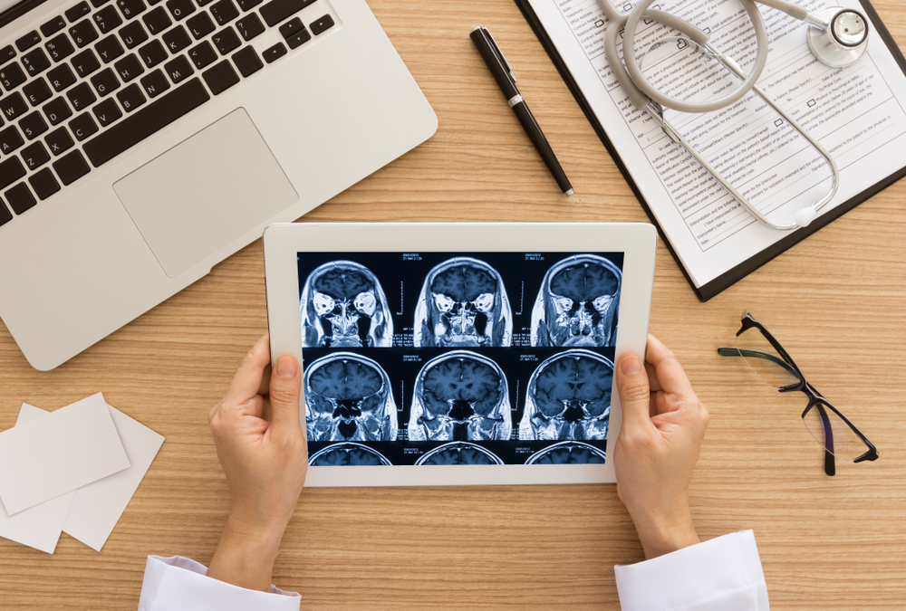 Medical imaging on tablet